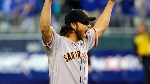 Oct. 29: Giants 3, Royals 2 (World Series Game 7)