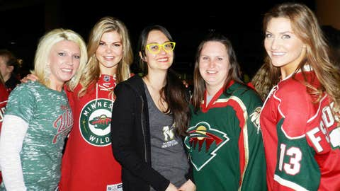 All decked out to cheer on our Wild.