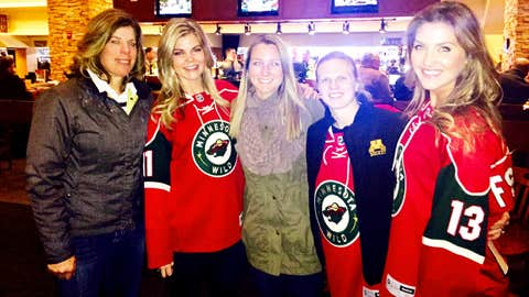 Ladies Night included special guests and hockey legends Karyn Bye-Dietz, Krissy Wendell-Pohl and Natalie Darwitz.