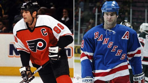 Eric Lindros and the Philadelphia Flyers