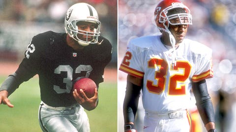 Marcus Allen and the Los Angeles Raiders