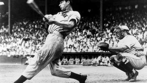 Joe DiMaggio: New York Yankees (1936–1942, 1946–1951)