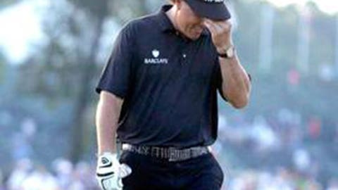 Phil Mickelson, 2013 US Open