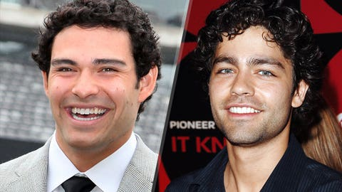 Mark Sanchez and Adrian Grenier