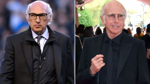 Carlos Bianchi and Larry David