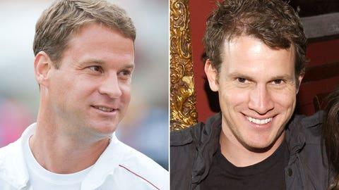 Lane Kiffin and Daniel Tosh
