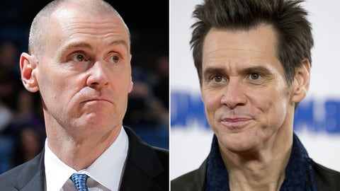 Rick Carlisle and Jim Carrey