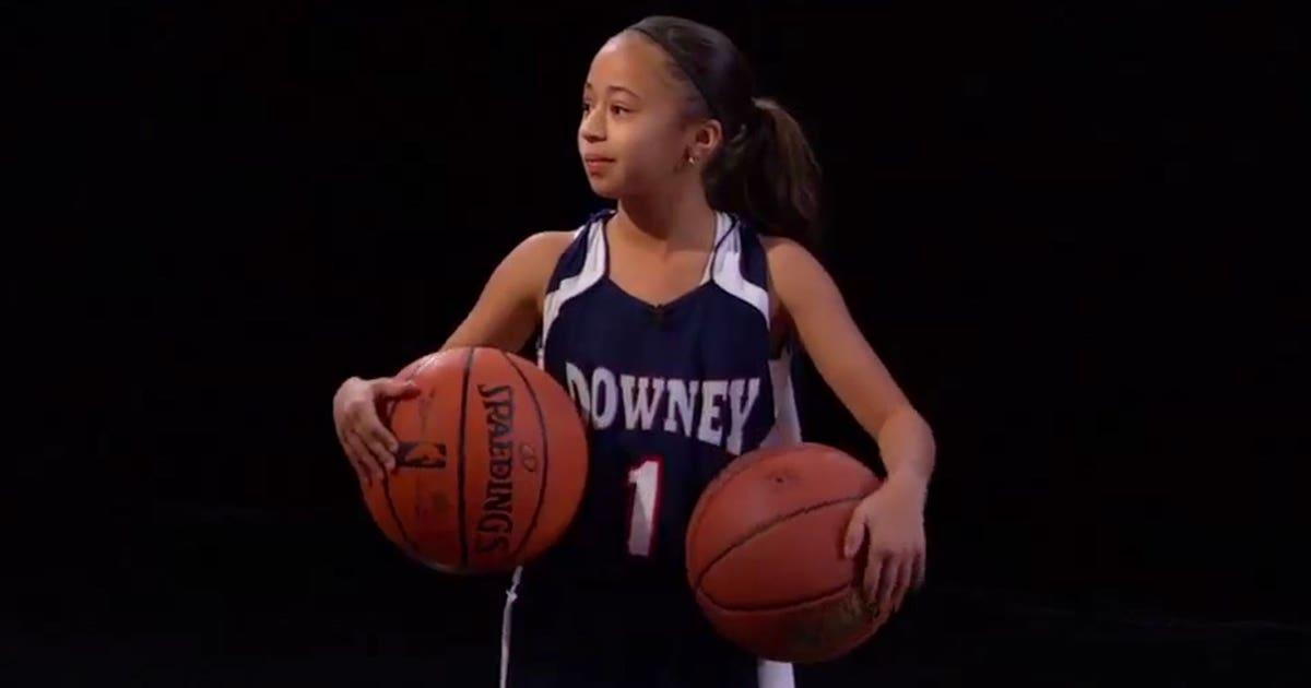 Jaden Newman 10 Scores 57 Points In Girls High School