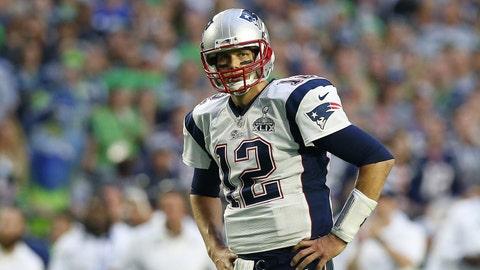 Patriots QB Tom Brady, $9 million