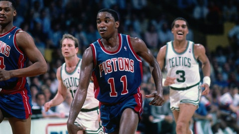 Isiah Thomas (11 appearances, 10 starts)