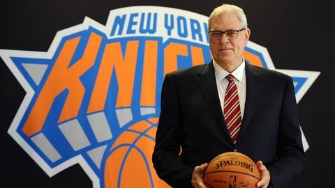Phil Jackson, President, New York Knicks