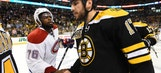 Lucic, Canadiens carry hatred into handshake line — and beyond