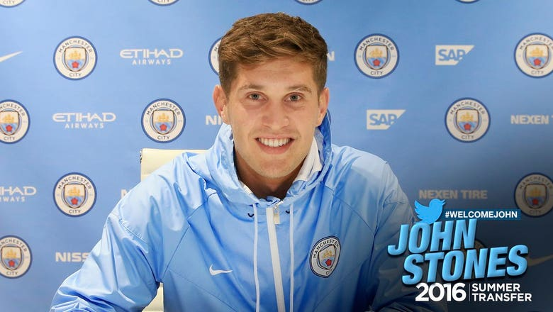 John Stones broke a record for two clubs in one transfer
