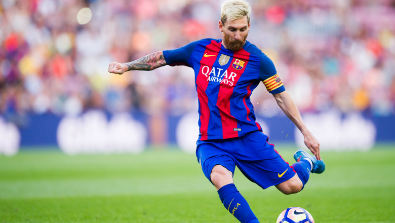 Lionel Messi's childhood Argentina club want to sign the superstar in 2018