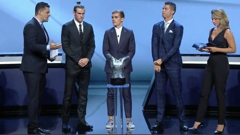 A definitive ranking of the UEFA Best Player nominees' outfits