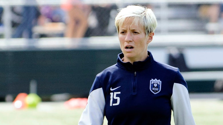 Megan Rapinoe scored this stunning volley as her comeback from injury hits new high