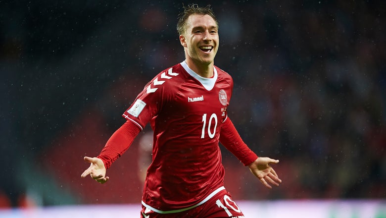 WATCH: Tottenham's Christian Eriksen Scores for Denmark