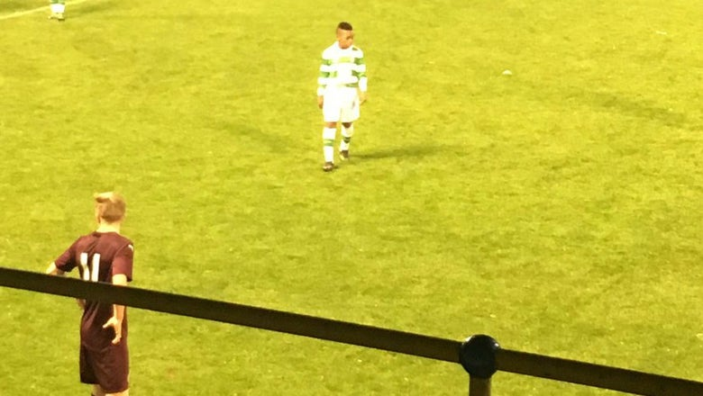 A 13-year-old just made his debut for Celtic's Under-20s