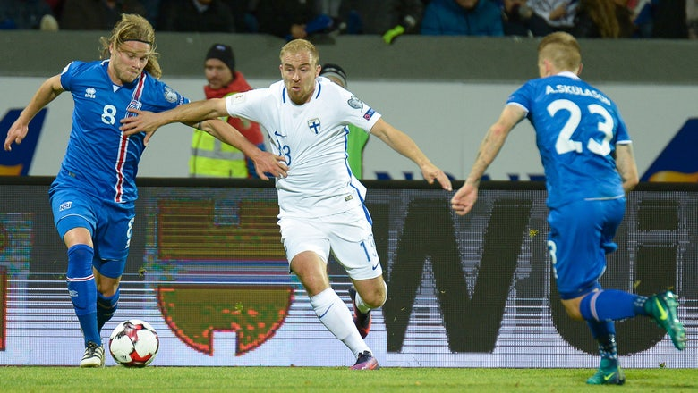 Watch: Iceland completes late comeback vs. Finland on controversial goal
