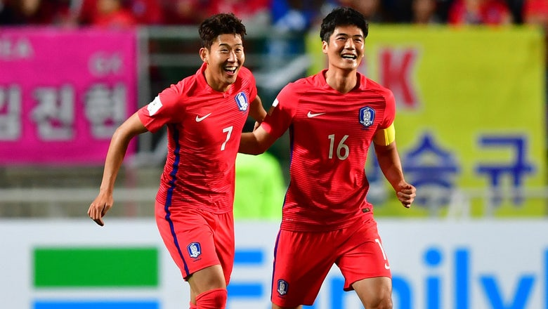 Tottenham's in-form Son leads South Korea over Qatar in World Cup qualifying