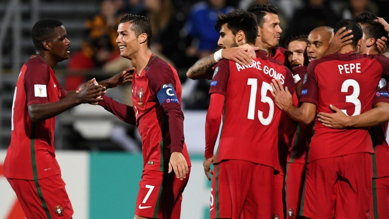 Watch: Cristiano Ronaldo scores golazo for Portugal vs. Faroe Islands