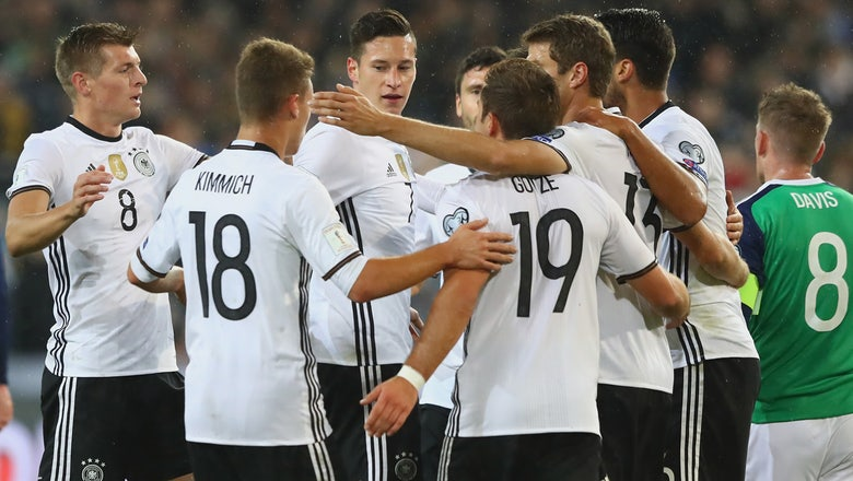 Draxler, Khedira fire Germany to World Cup qualifying win vs. Northern Ireland