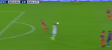 Claudio Bravo got a hilarious red card for a handball way outside the box