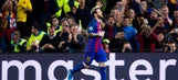 Messi, Ozil hat tricks lead Barcelona, Arsenal to key Champions League wins