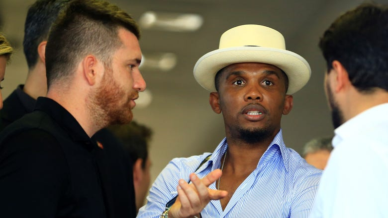 Samuel Eto'o says he'll give fan €100k if club doesn't finish in top 10