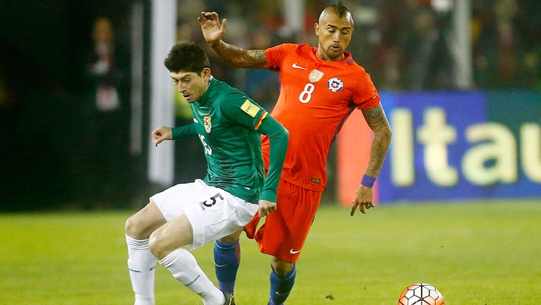 Bolivia must forfeit two World Cup qualifiers, helping Chile's chances
