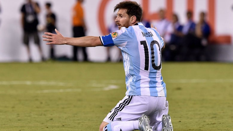 Argentina leapfrogged by Chile in World Cup qualifying after Bolivia forfeit matches
