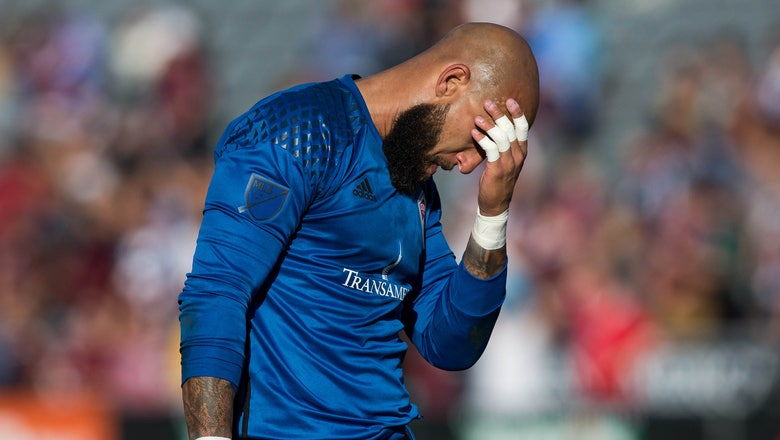 The USMNT goalkeeper pool looks like a mess right now