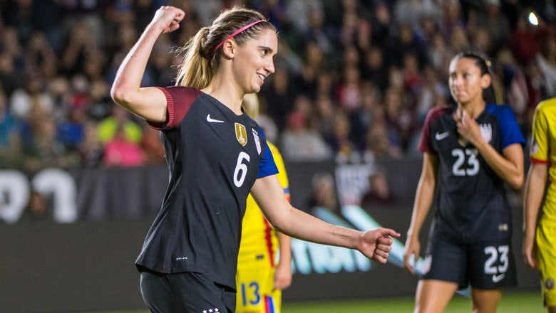 Watch: USWNT closes tumultuous 2016 with 5-0 rout of Romania