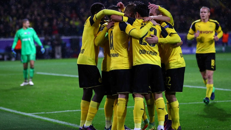 Watch Dortmund, Legia make Champions League history with 5 goals in the first 25 minutes