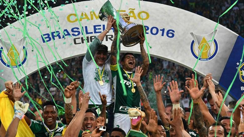 Man City starlet Gabriel Jesus leads Palmeiras to first Brasileiro title since 1994