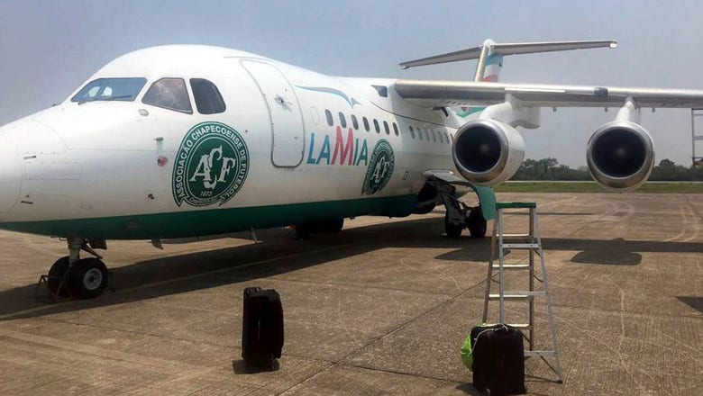 Chapecoense plane that crashed was used to fly to Argentina earlier this month