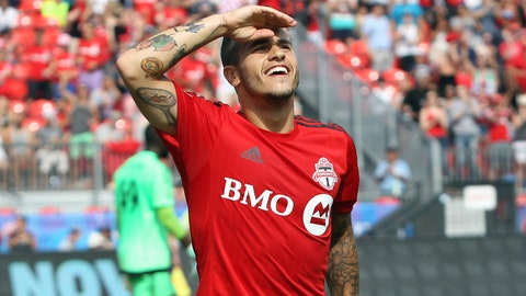 Giovinco finally scored, and Altidore had a gorgeous assist