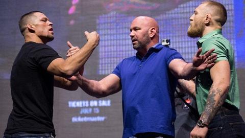 Nate Diaz vs. Conor McGregor 2