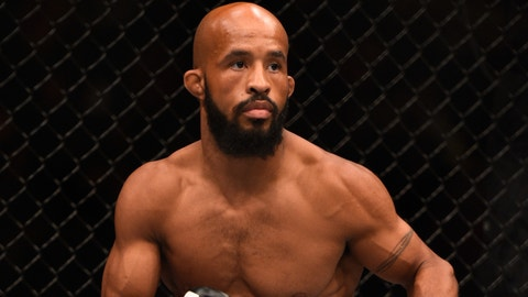 Dana White will get Demetrious Johnson his title belts