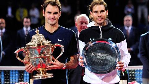 2015: Basel final (Federer wins 6-3, 5-7, 6-3)
