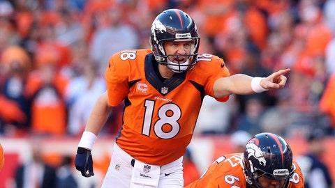 T-21. Peyton Manning, Denver Broncos, retired ($15 million)