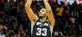 Spurs dominate Hawks