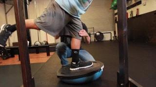Train Like a Champion: Leg stabilization
