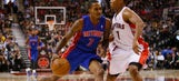Pistons fall to Raptors, skid continues
