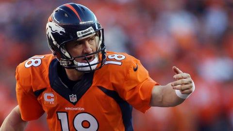 Colts QB Peyton Manning: Broncos