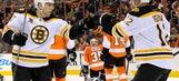 Iganla, Bruins dismantle Flyers