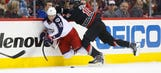 Blue Jackets edged by 'Canes