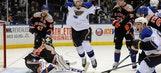 Blues beat Islanders in SO