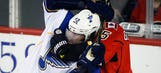 Blues shutout Flames for 7th straight W