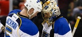 Blues grind out win over Rangers